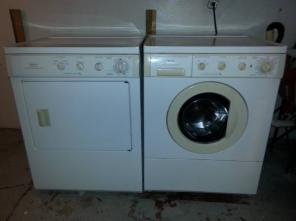 Frigidaire front load Washer and Dryer, need to sell